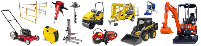 Equipment Rentals in North Palm Beach, Hollywood and Ft. Lauderdale FL