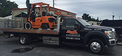 Equipment delivery in North Palm Beach, Hollywood and Ft. Lauderdale FL